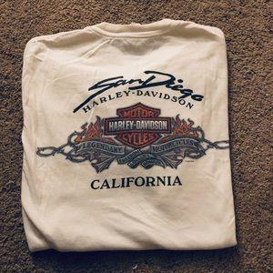 Harley-Davidson Shirts - Harley Davidson Mens Tee San Diego